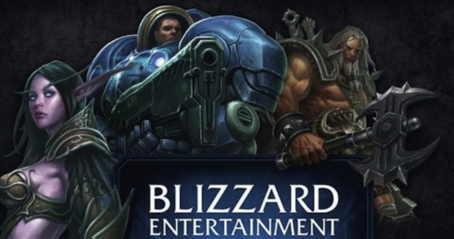 Blizzard Characters Banner