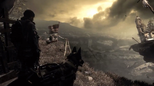 Call of Duty: Ghosts Dog Screenshot