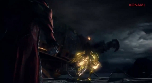 Castlevania: Lords of Shadow 2 Angel Gameplay Battle Screenshot