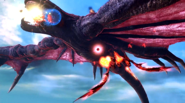 Crimson Dragon XboxOne Gameplay Screenshot Panzer Dragoon Style Game