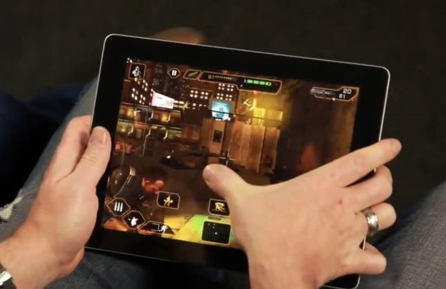 Deus Ex: The Fall iTunes Android Mobile Tablet Gameplay Screenshot