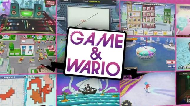 Game & Wario Minigame Screenshots (WiiU E3 2013)