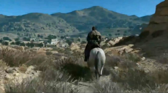 Metal Gear Solid 5 XboxOne Gameplay Screenshot Horse Riding