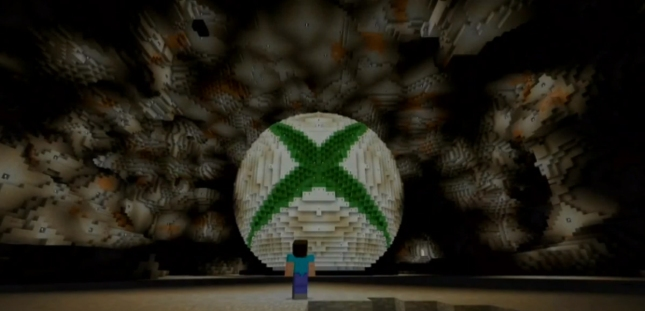 Minecraft Xbox One Gameplay Screenshot