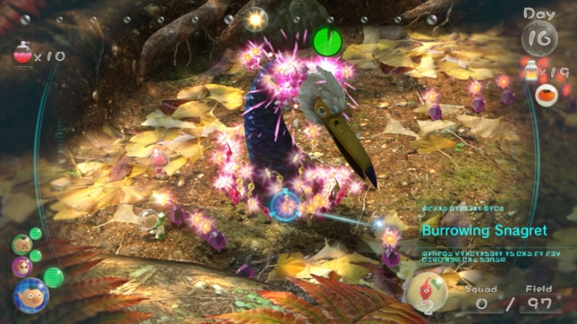 Pikmin 3 Pink Rock Pikmin Flowers Screenshot WiiU