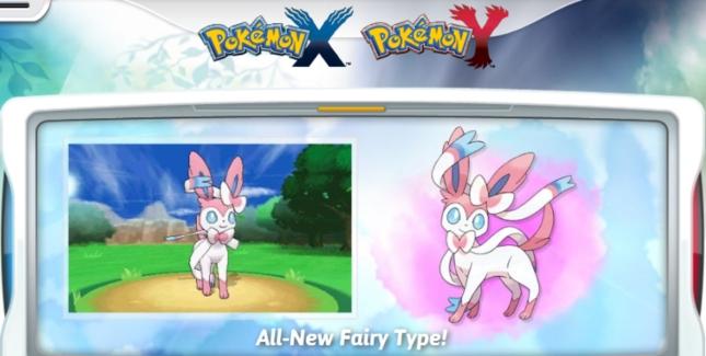 Pokemon XY Fairy Type Artwork