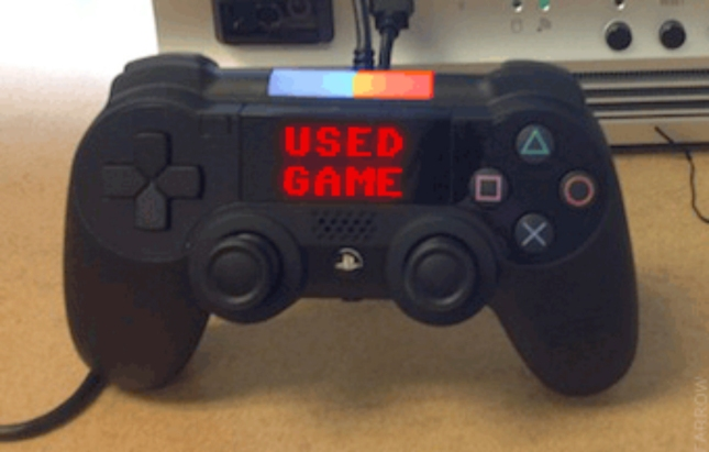 PS4 Used Games Controller