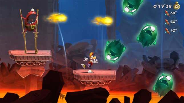Rayman Legends Animation Screenshot Wii U, Xbox 360, PS3, PS Vita