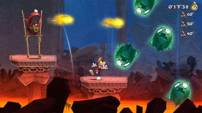 Rayman Legends Animation Screenshot Wii U, Xbox 360, PS3, PS Vita