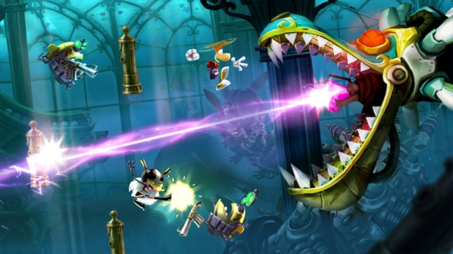 Rayman Legends Epic Bosses Gameplay Screenshot WiiU