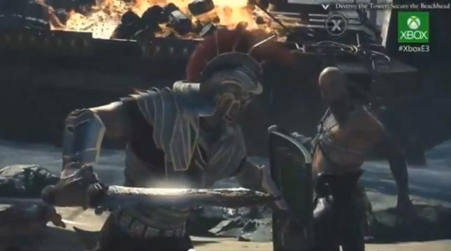 Ryse XboxOne Gameplay Screenshot
