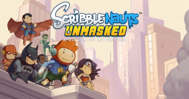 Scribblenauts Unmasked: A DC Comics Adventure Heroes Wallpaper (WiiU, 3DS, PC)