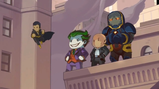 Scribblenauts Unmasked DC Comics Villains Wallpaper (WiiU, 3DS, PC)