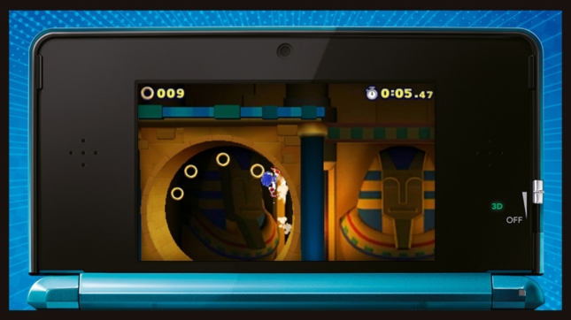 Sonic Lost World 3DS Gameplay Screenshot