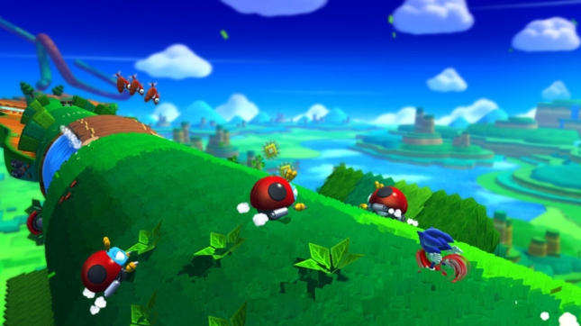 Sonic Lost World Gameplay Screenshot WiiU
