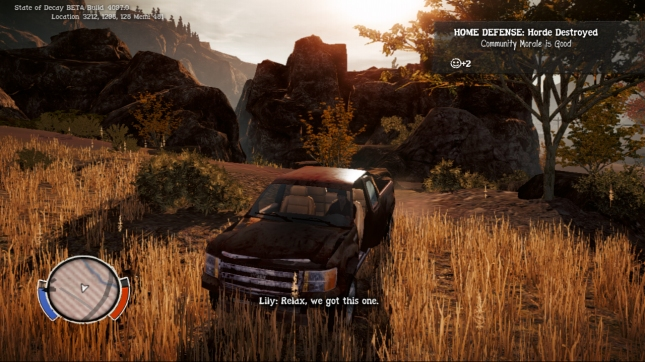 State of Decay Car Gameplay Screenshot XBLA