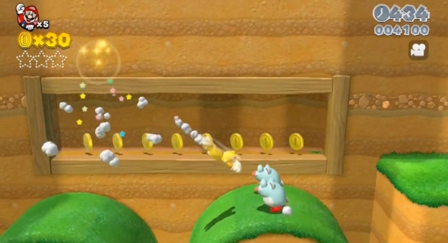 Super Mario 3D World Cat Mario Gameplay Screenshot
