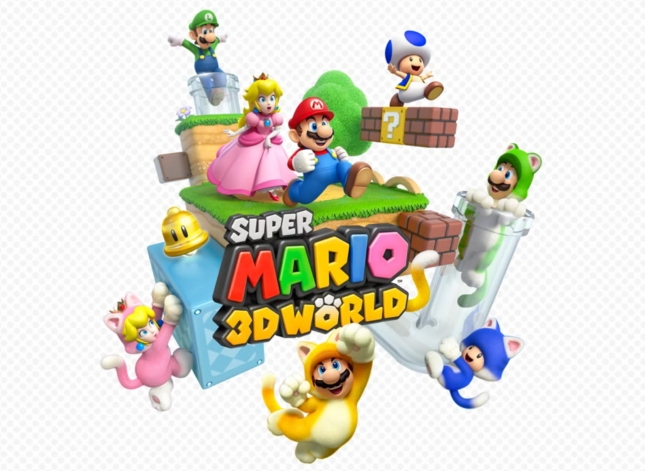 Super Mario 3D World WiiU Character Artwork