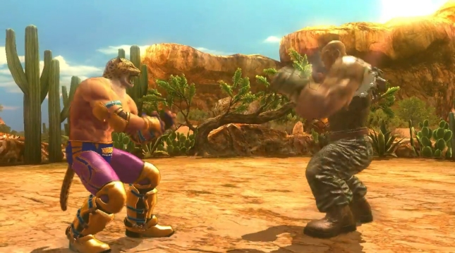 Tekken Revolution Gameplay Screenshot King vs Jack