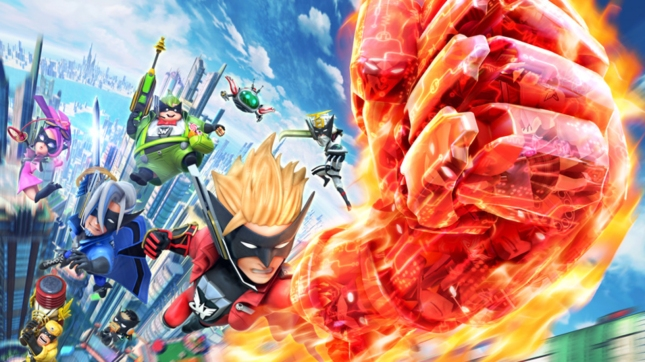 The Wonderful 101 Superhero Powers Artwork WiiU