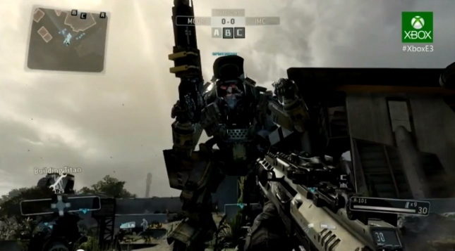 TitanFall XboxOne Gameplay Screenshot