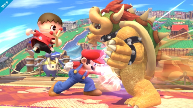 Villager Super Smash Bros. 4 Gameplay Screenshot WiiU 3DS