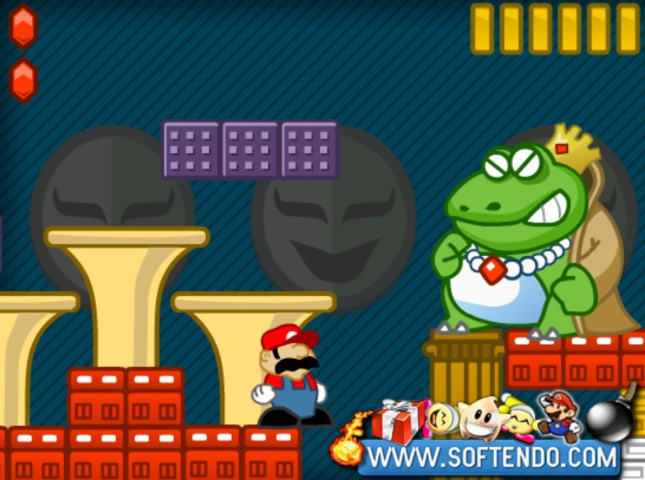 Wart Mario Boss Wallpaper Artwork By SoftNintendo