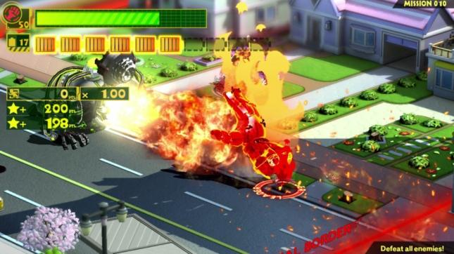 Wonderful 101 Hand Attack Screenshot WiiU