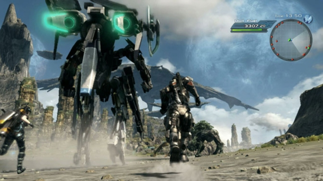 X Mechs Wii U Gameplay Screenshot Exploration