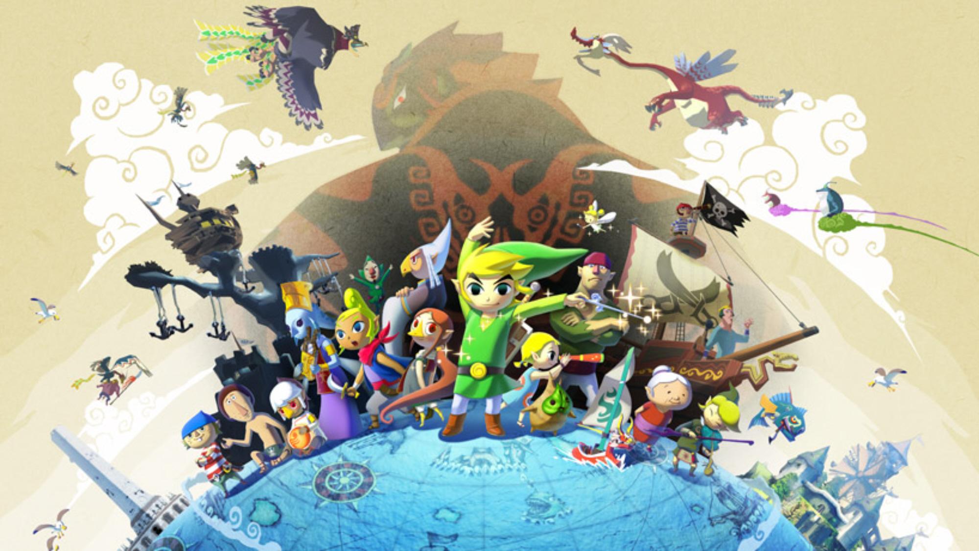 Must see Wallpaper Home Screen Zelda - zelda-wind-waker-hd-wallpaper-ganondorf-and-cast-of-characters  Gallery_229059.jpg