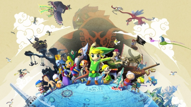 Zelda Wind Waker HD Wallpaper Ganondorf And Cast of Characters